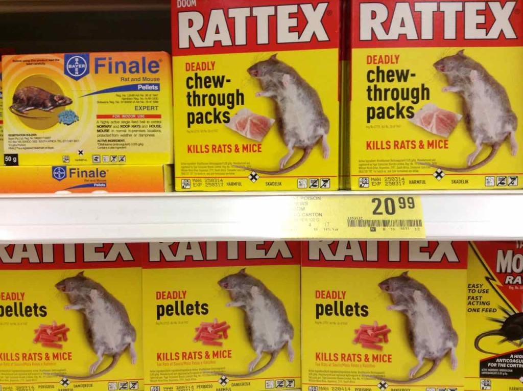 Supermärkte Afrika, Shoprite, Swaziland, Rattenmittel