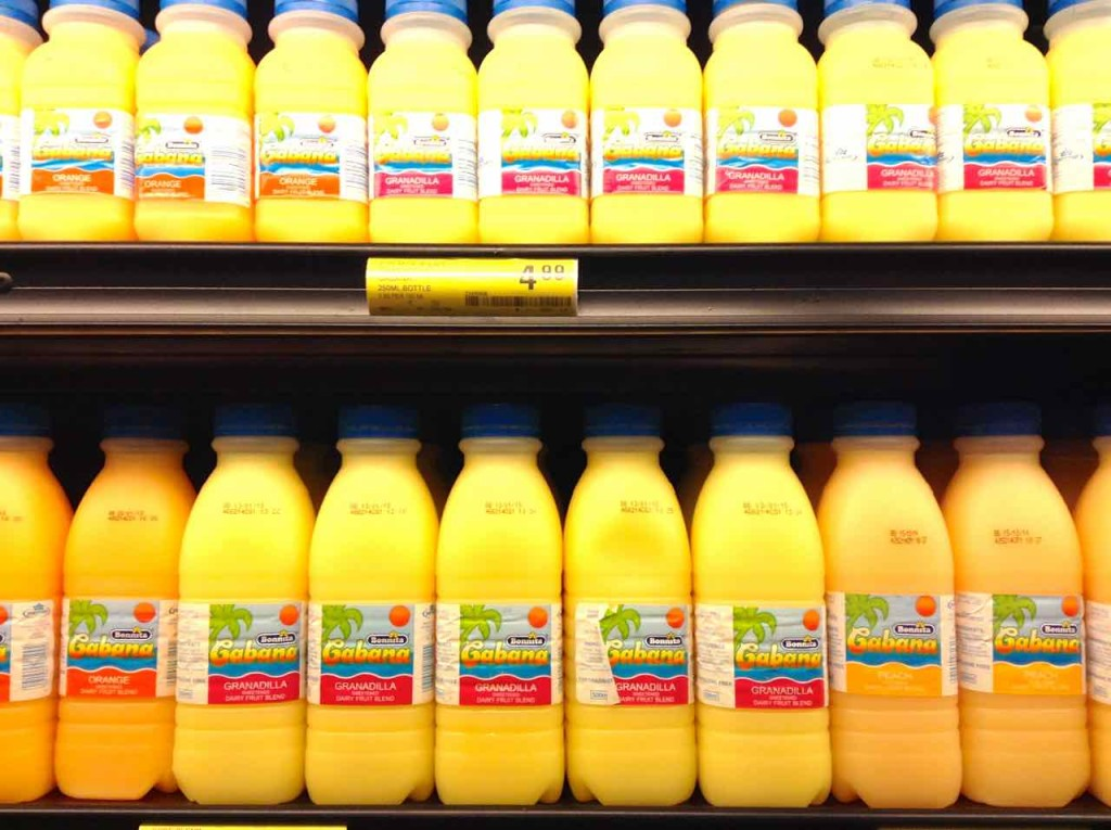 Supermärkte Afrika, Shoprite, Swaziland, Säfte