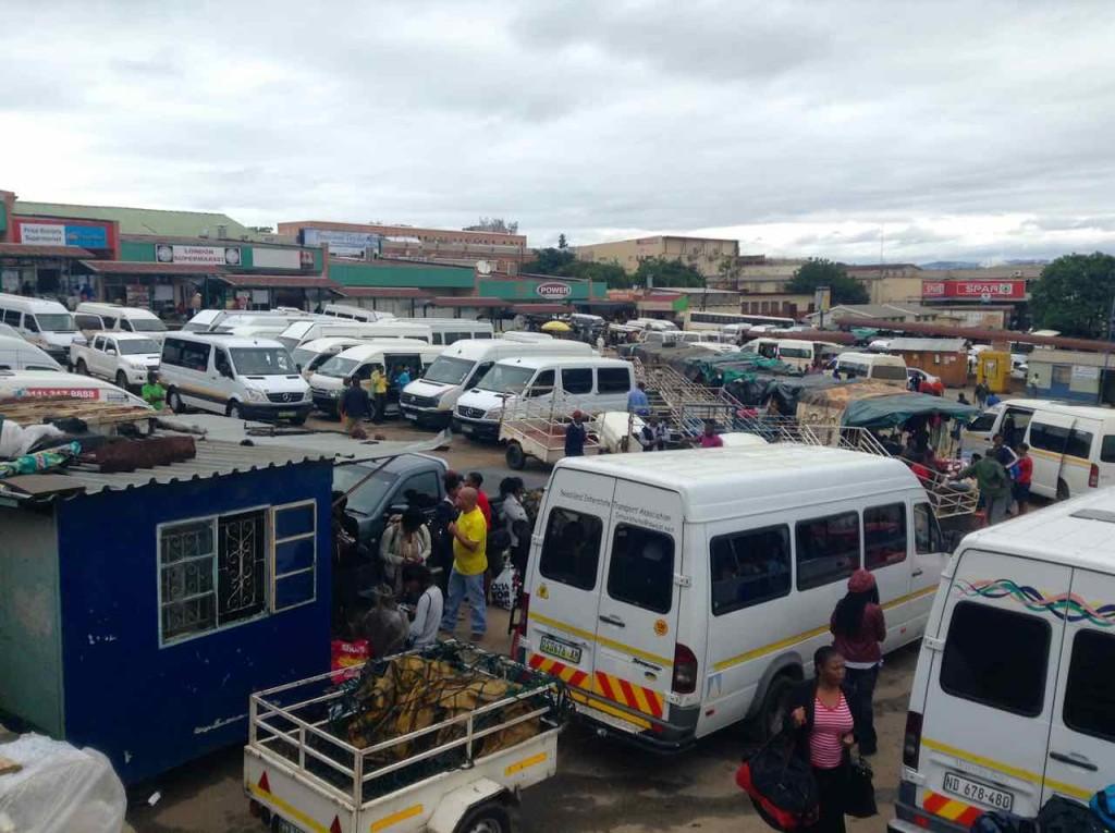 Swaziland, Manzini, Busbahnhof