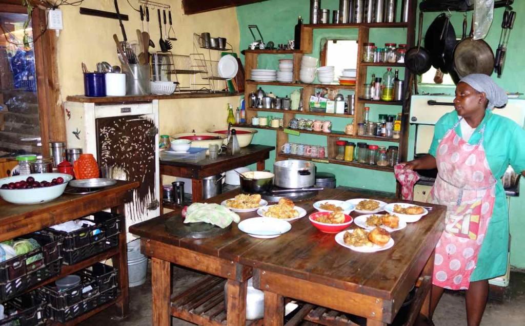 Hogsback, Küche vom Terra Khaya