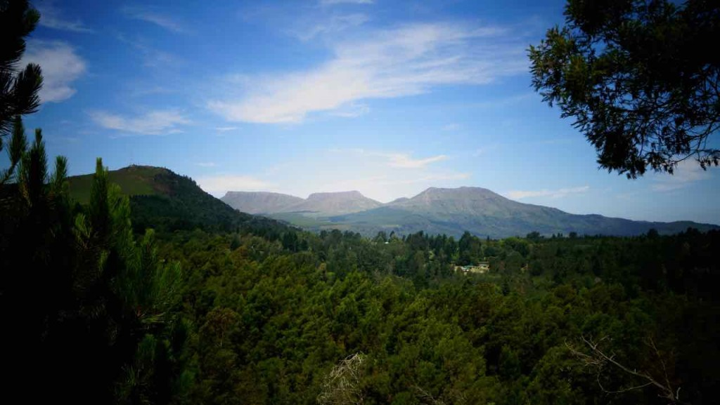 Hogsback, Terra Khaya,Berglandschaft
