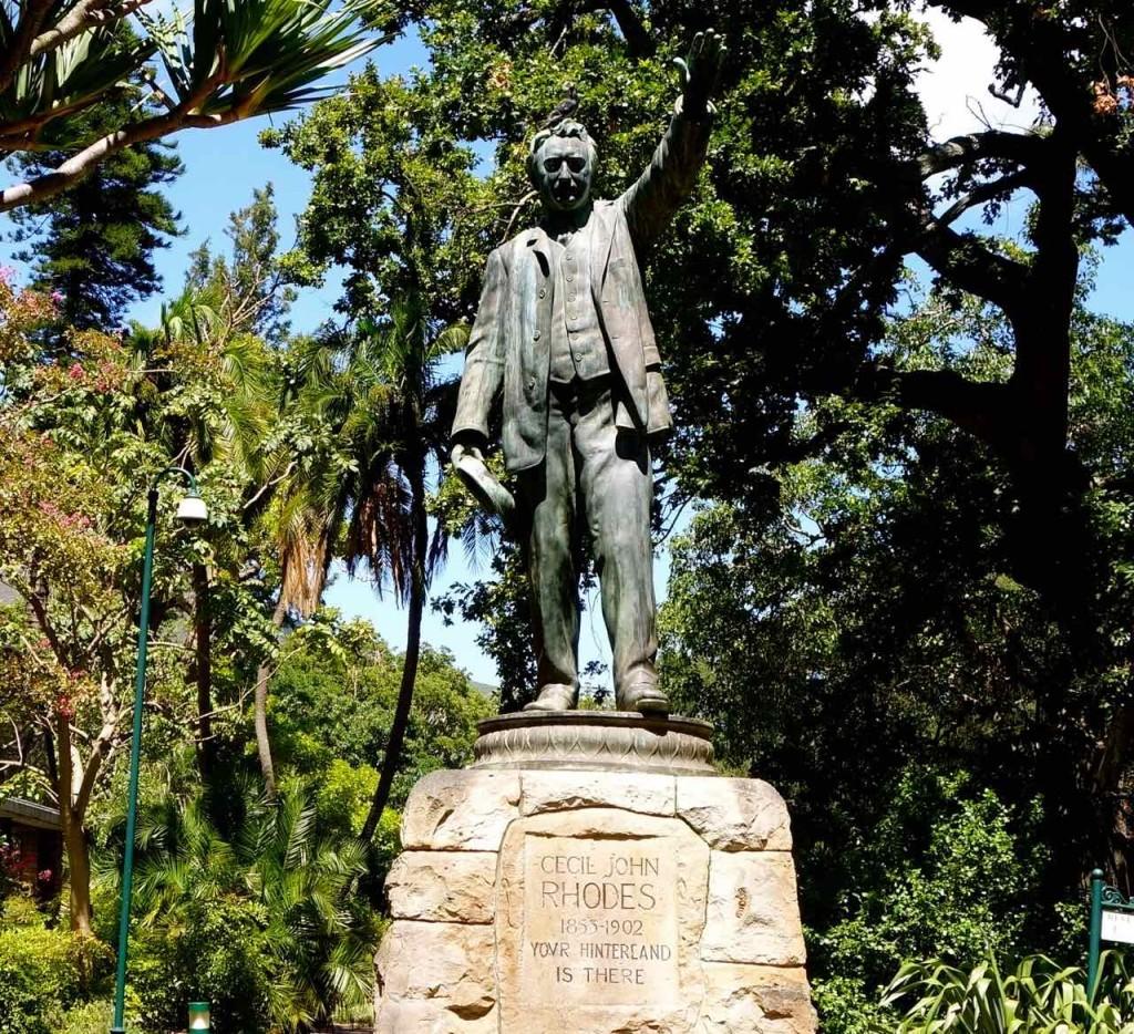 Kapstadt, Companys Garden, Cecil John Rhodes Denkmal