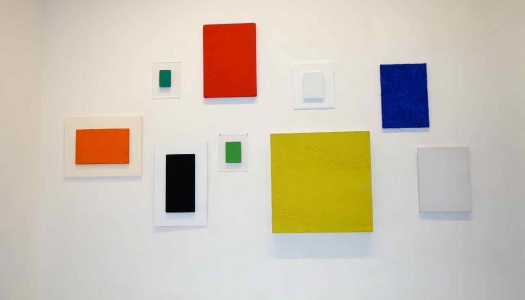 Raum mit Werken von Yves Klein…