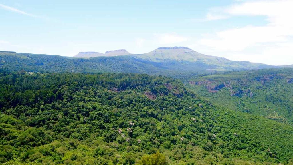 Südafrika, Hogsback, Blick vom Viewpoint 2