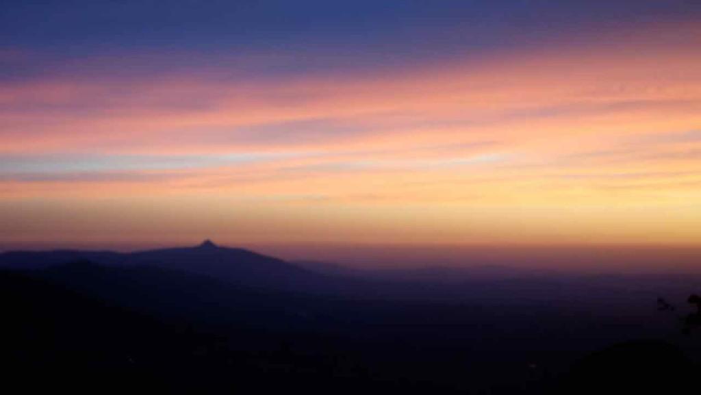 Südafrika, Hogsback, Sonnenuntergang