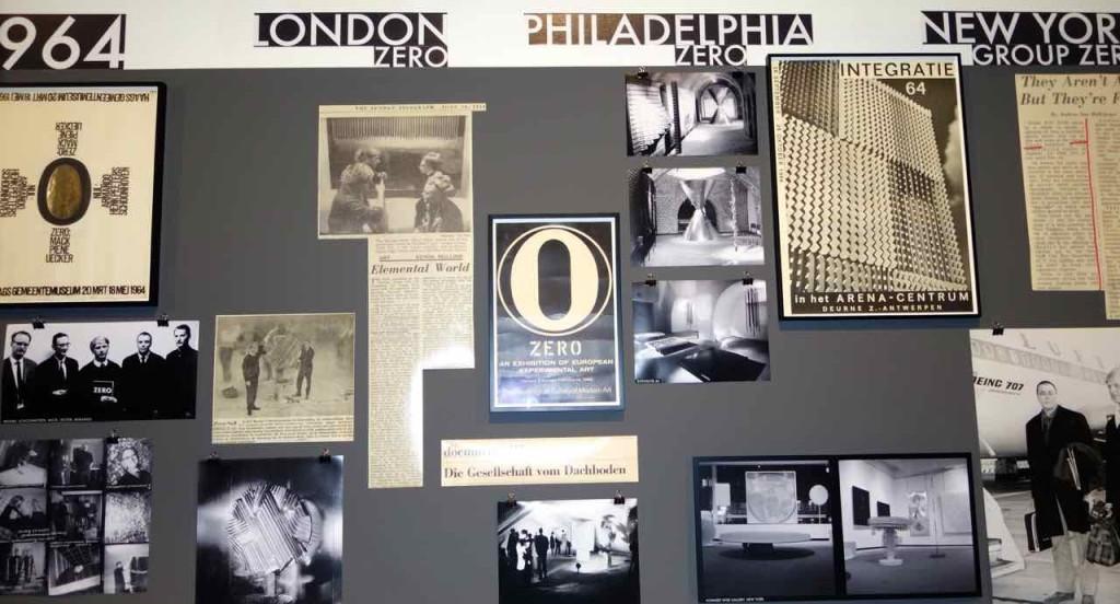 ZERO, Begleitende Dokumentation der Zeitgeschichte