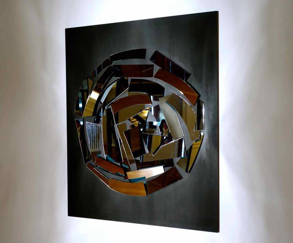 ZERO, Christian Megert, Nul 62 (1962), Spiegel auf Acryl auf Holz, 180x140x12cm
