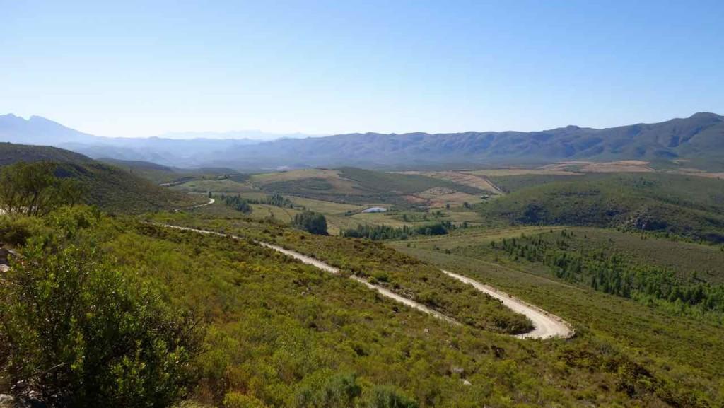 Südafrika, Oudtshoorn, Swartberg Pass 4, Schotterstraße