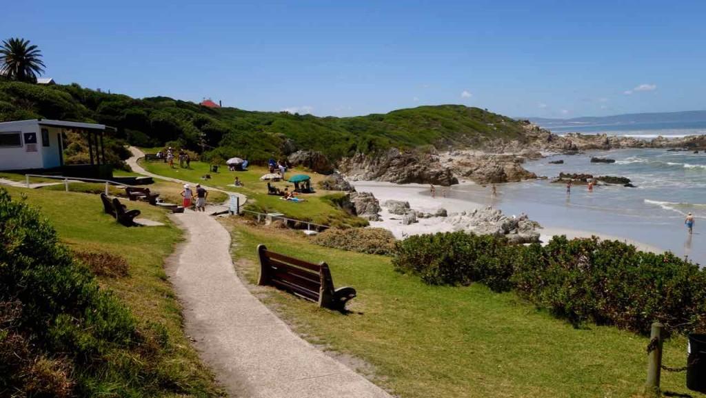 Hermanus Highlights, Cliff Path mit Bade-Strand