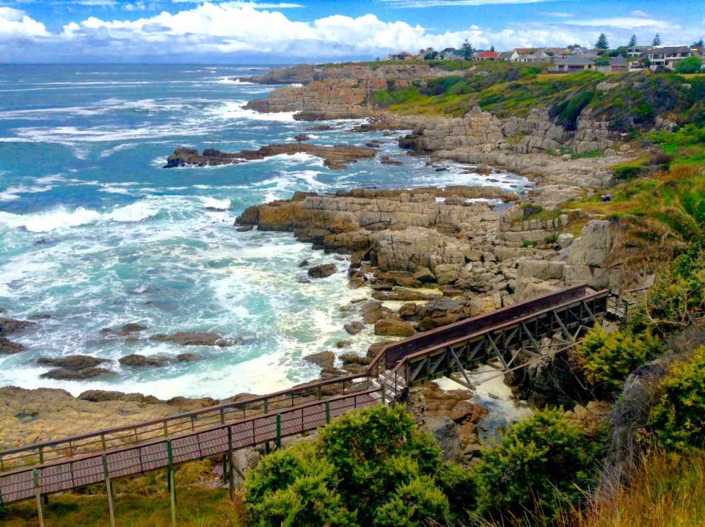 Hermanus Highlights mit Cliff Path, Totale