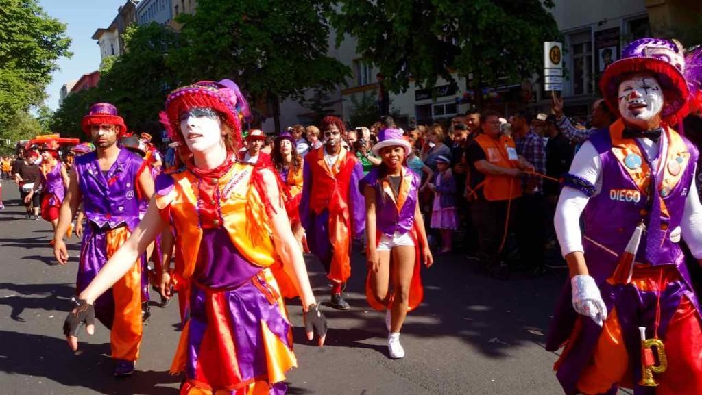 Karneval der Kulturen, Berlin, Umzug 2015