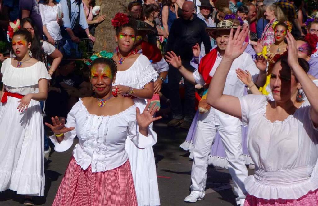 Karneval der Kulturen 2015 Berlin Umzug,