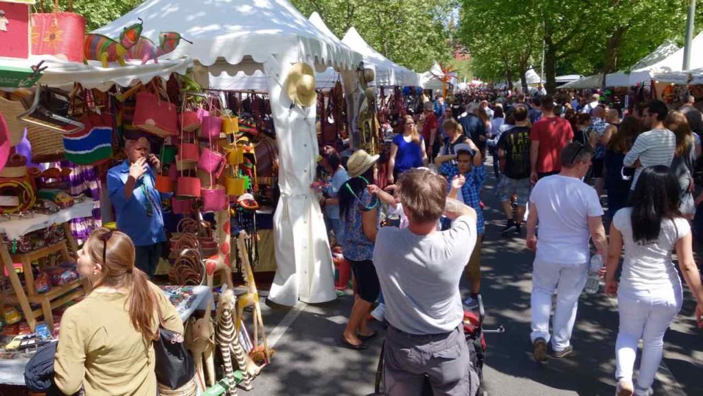 Karneval der Kulturen 2015 Budengasse