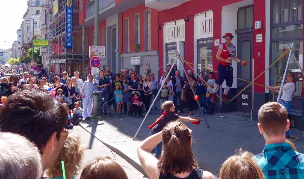 Karneval der Kulturen 2015 Jongleur