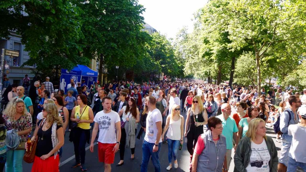 Karneval der Kulturen 2015 Kurz vor dem Umzug