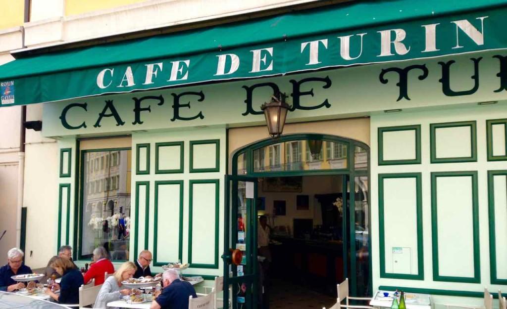 Nizza Highlights, Restaurant Café de Turin