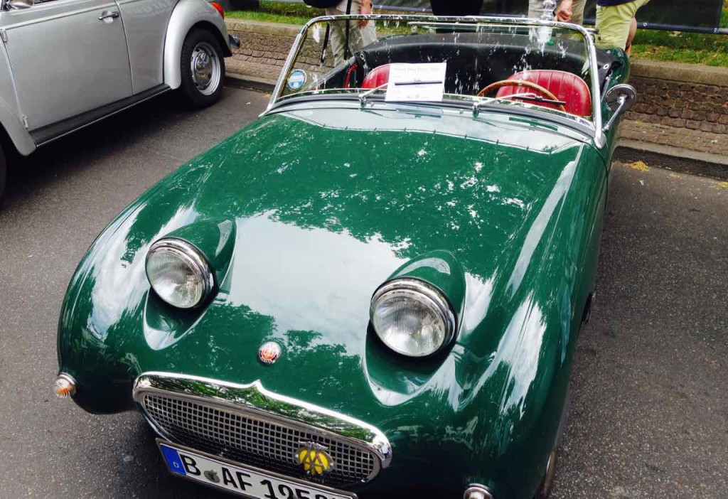 Classic Day 2016, Berlin, Oldtimer, Austin Healy Sprite, 1958, 42 PS