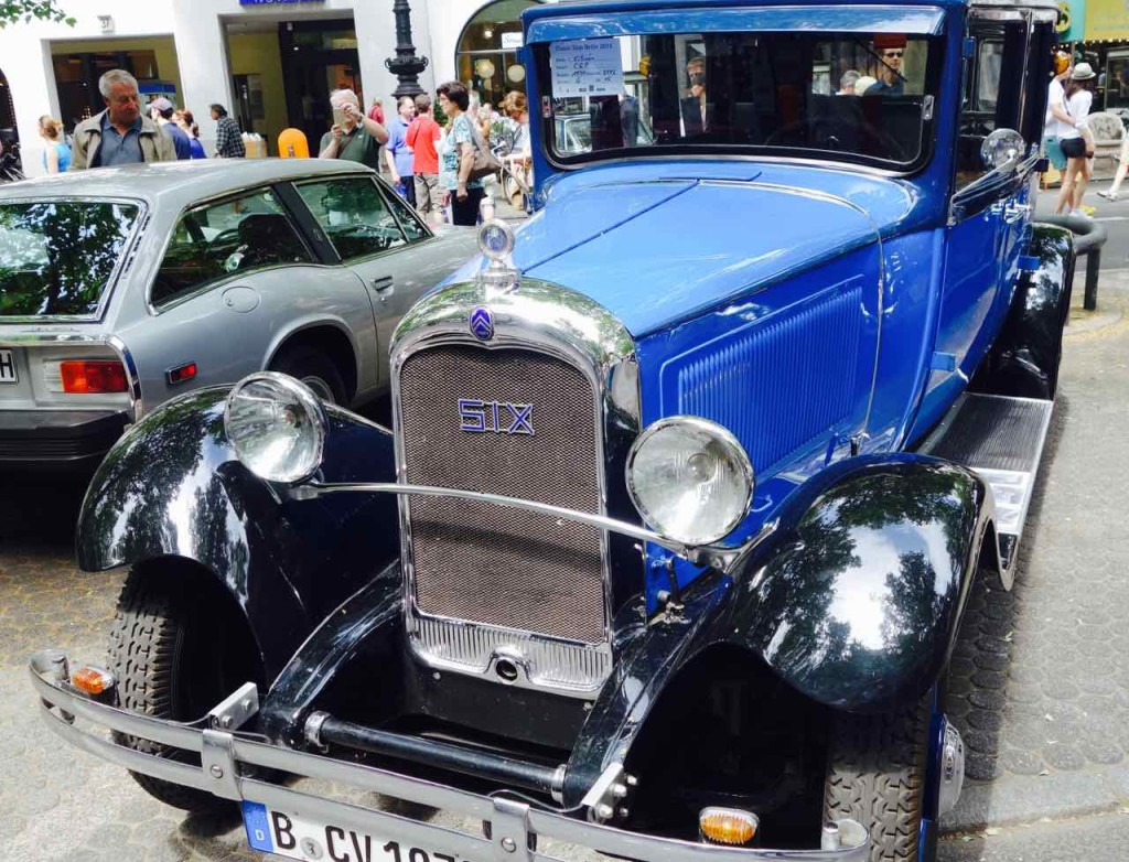 Classic Days 2016, Berlin, Oldtimer, Citroen, 1930, 45 PS
