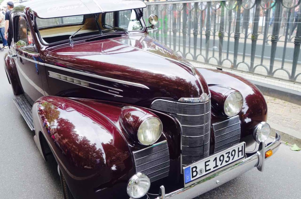 Classic Days 2016, Berlin, Oldtimer, Oldsmobile