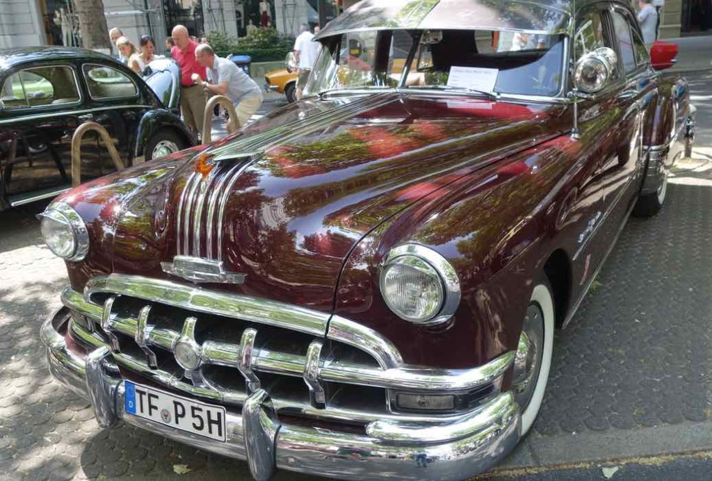 Classic Days, Berlin, Oldtimer, Pontiac