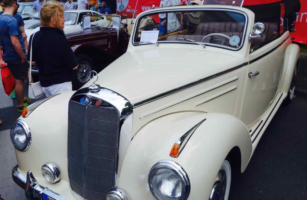 Classic Days, Berlin, Oldtimer,Mercedes-Benz, 220 Cabriolet B, 1952, 80 PS