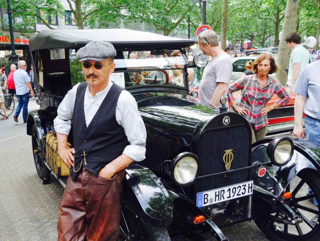 Classic Days Berlin,Oldtimer, Durant Star aus dem Hause Lansing/USA, 1923