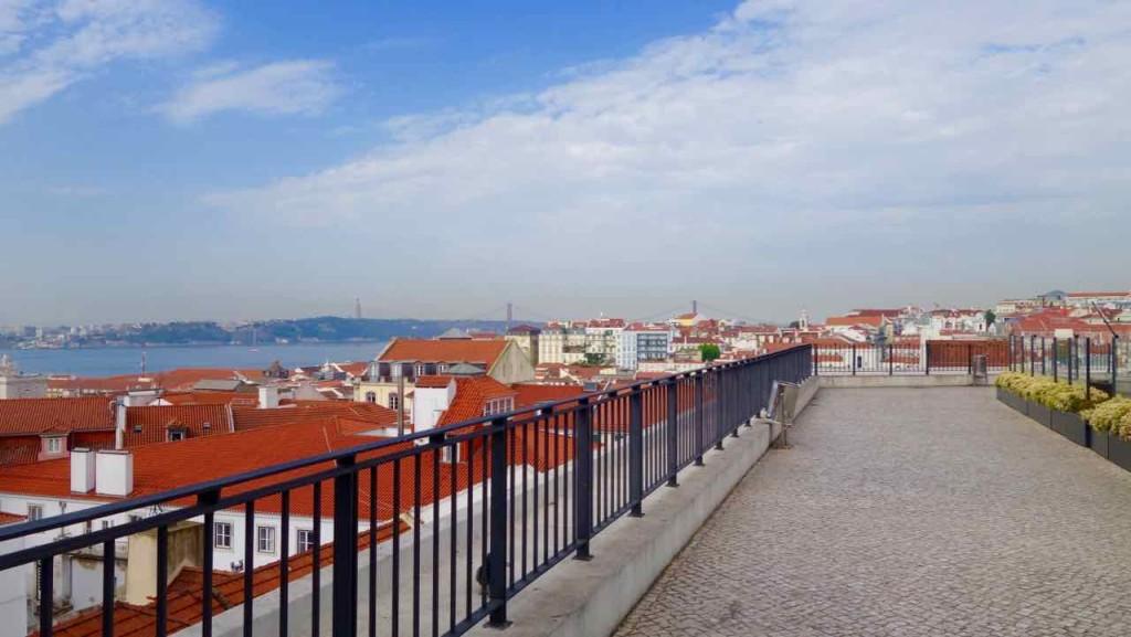 Aussichtspunkte von Lissabon, Aussicht vom Café ZamBeWe