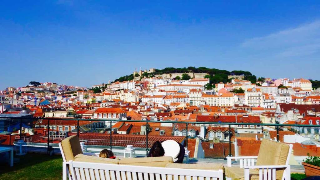 Aussichtspunkte von Lissabon, Terrasse vom Hotel do Chiado