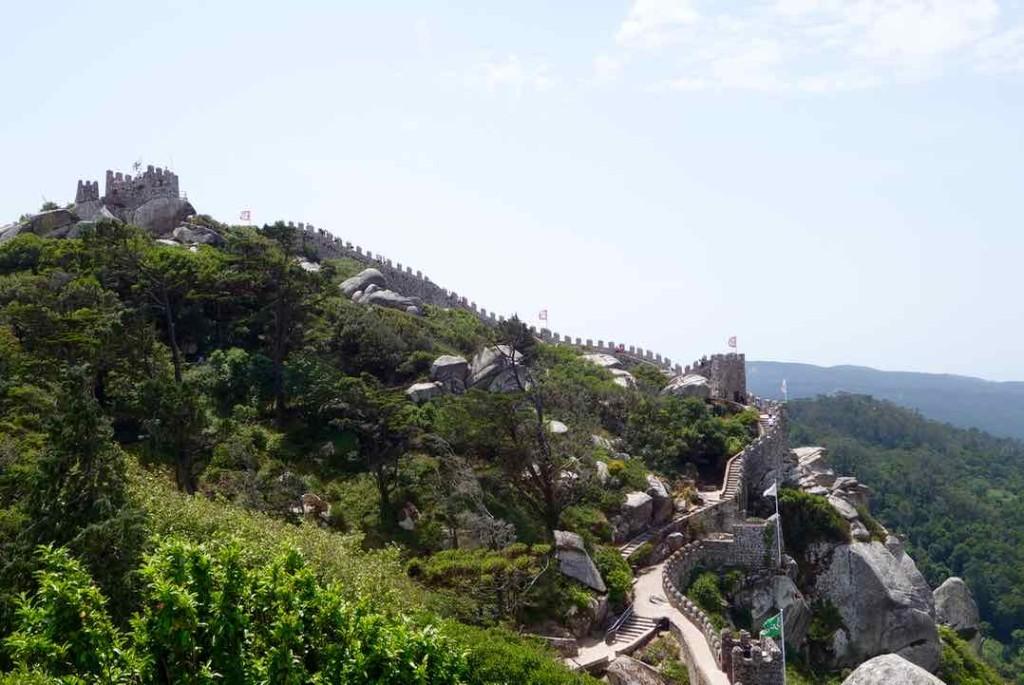 Lissabon Tagesausflug Sintra zum Castelo dos Muros