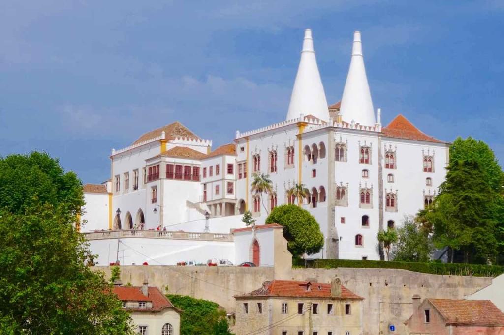 Portugal, Lissabon Tagesausflug Sintra zum Palacio Nacional