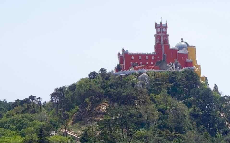 Lissabon Tagesausflug Sintra zum Palacio Nacional da Pena