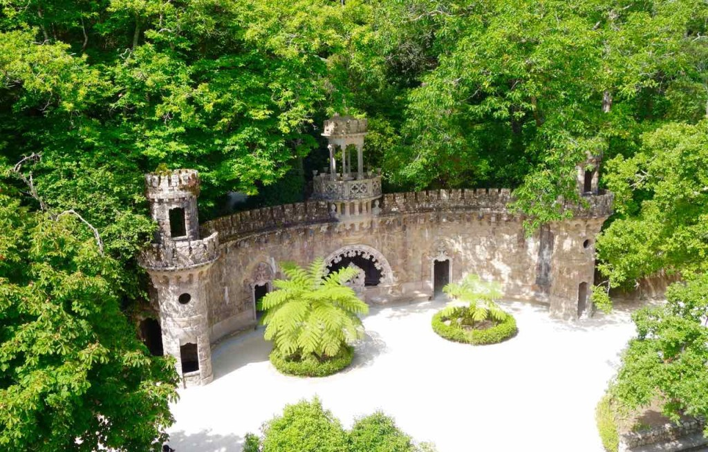 Lissabon Tagesausflug Sintra zum Quinta da Regaleira, Park