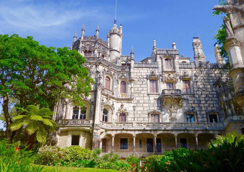 Lissabon Tagesausflug Sintra zum Quinta da Regaleira, Villa
