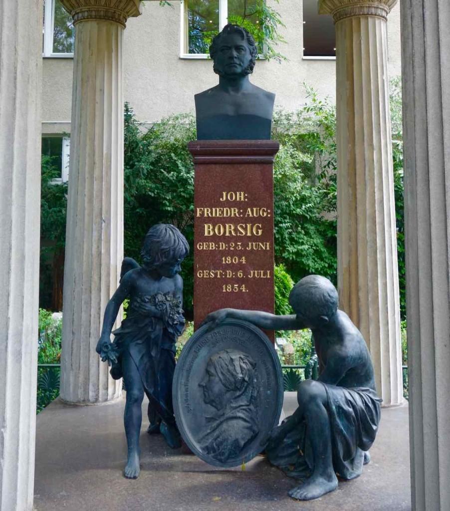 Dorotheenstädtischer Friedhof in Berlin, August Borsig (1804 - 1854), Unternehmer