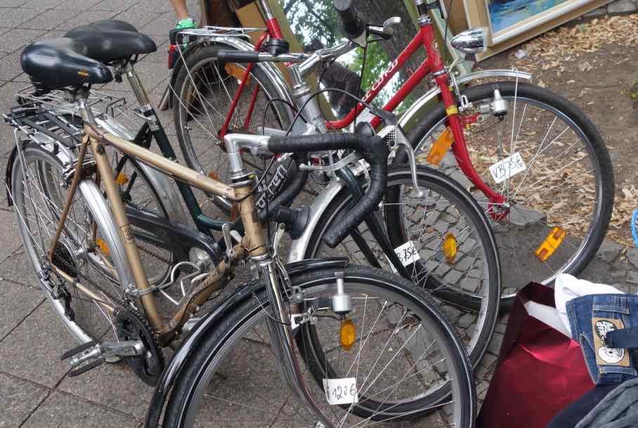 Flohmarkt berlin fahrrader