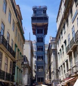 Lissabon Tipps, Elevador de Santa Justa mit Aussichtsplattform