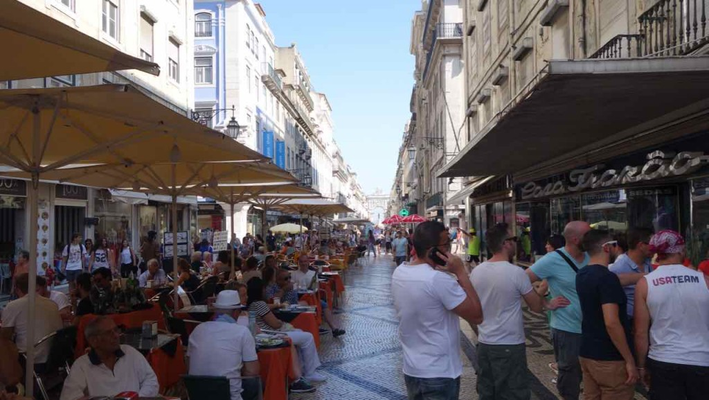 Lissabon Tipps, Rua Augusta