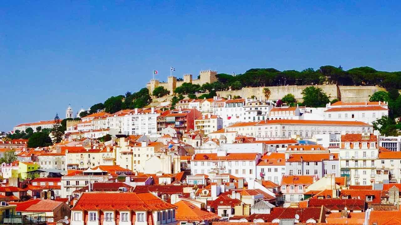 Lissabon Tipps, Totale mit Castelo de São Jorge, Titelbild