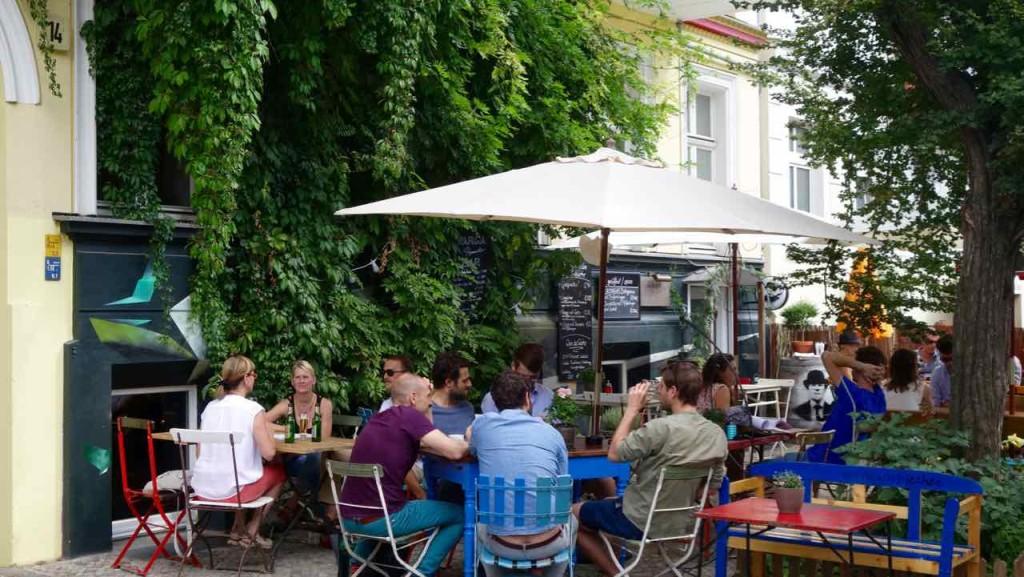 Berlin, Oderbergerstraße, Café