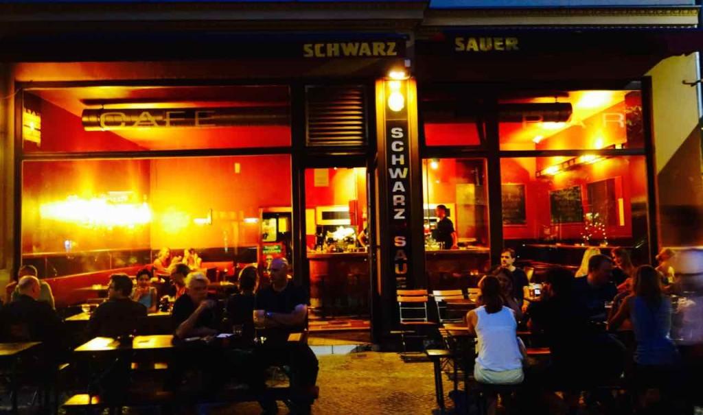 Café Schwarzsauer in der Kastanienallee 13