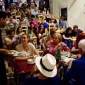 Lissabon Restaurants, Bairro Alto, volle Gasse, Titel 2