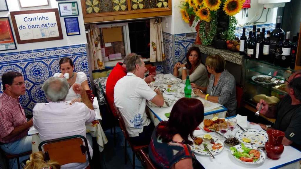 Lissabon Restaurants, Cantinho do bem estar