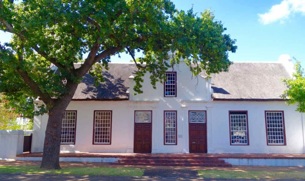 Südafrika, Stellenbosch, typisches Haus