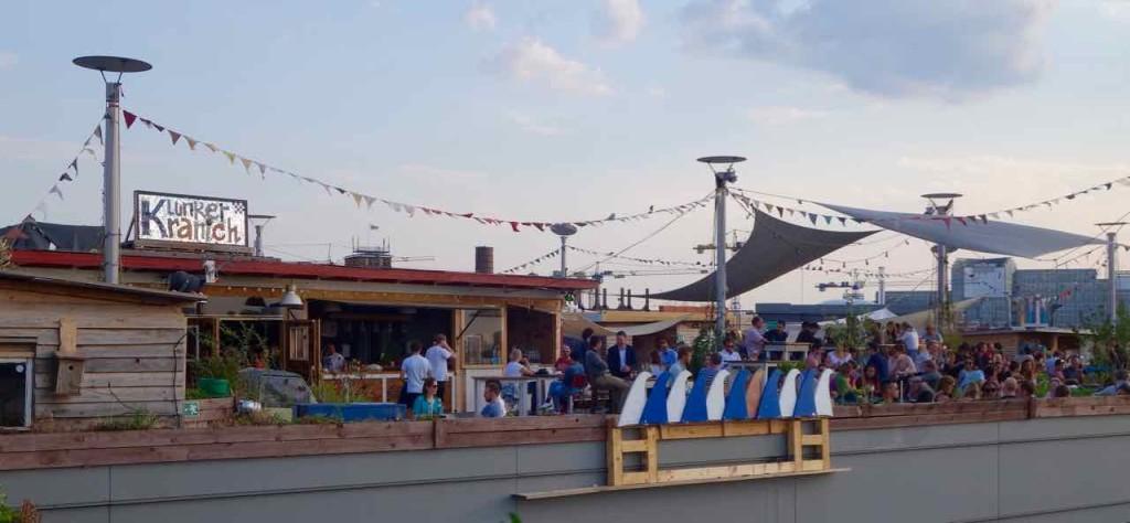 Rooftop-Bar Klunkerkranich, Panorama