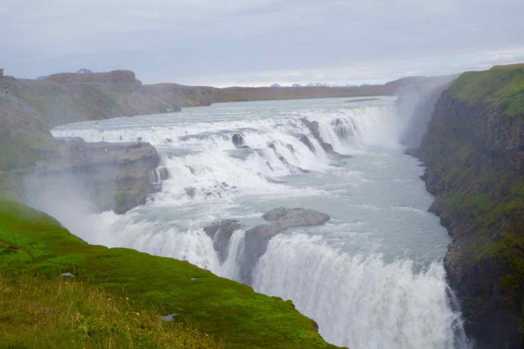 Island Tipps Wasserfall Gullfoss