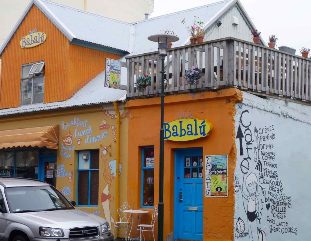 Island, Reykjavik, Sehenswürdigkeiten, Café Babalú