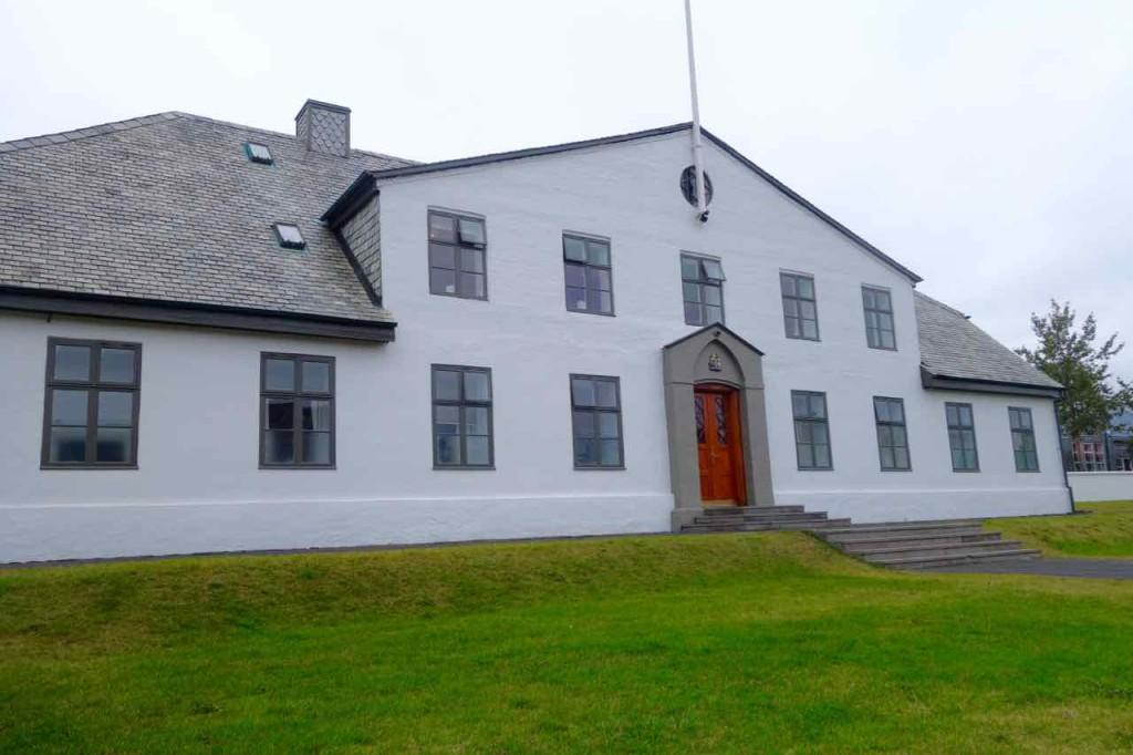 Island, Sehenswürdigkeiten, Reykjavik, Amtssitz des Staatspräsidenten, ein ehemaliges Gefängnis