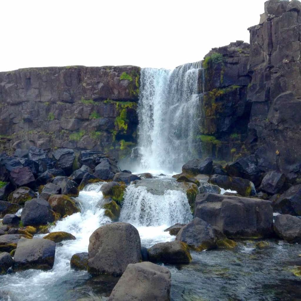 Island Tipps Thingvellir, Wasserfall Öxarárfoss