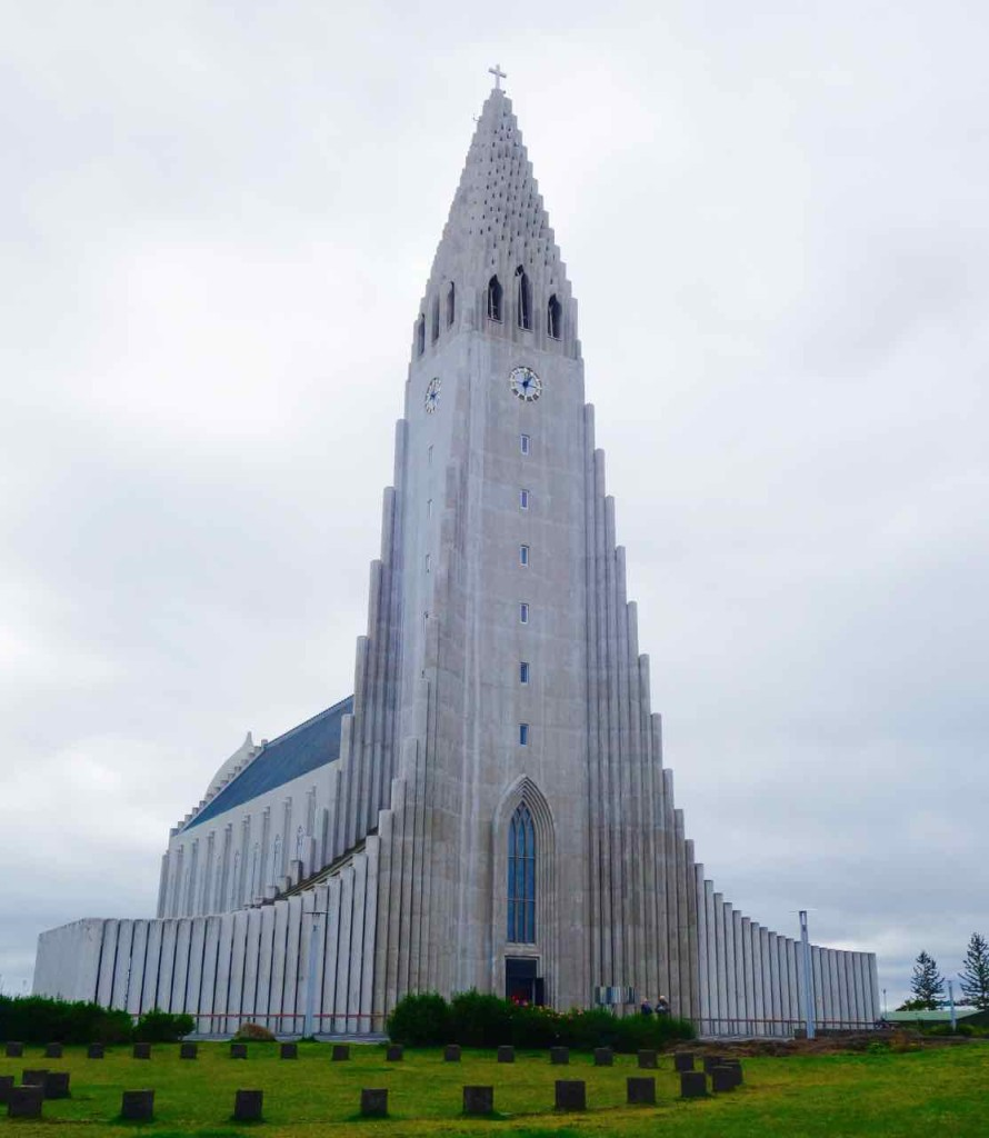 Reykjavik, Sehenswürdigkeiten, Kirche Hallgrímskirkja
