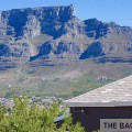 Backpacker Hostel Afrika, Kapstadt, The Backpack mit Tafelberg